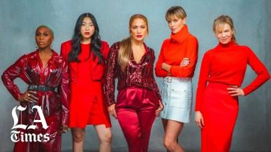 Charlize Theron& Jennifer Lopez & Renee Zellweger & Awkwafina & Cynthia Erivo X LA Times-4