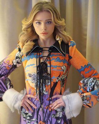 Chloe Grace Moretz in Louis Vuitton Spring 2020-1