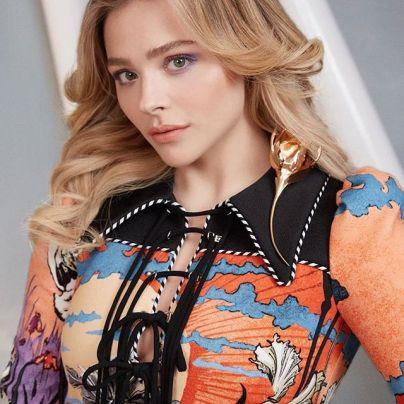 Chloe Grace Moretz in Louis Vuitton Spring 2020-2