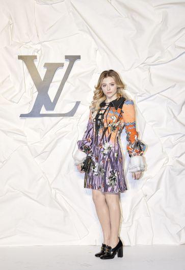 Chloe Grace Moretz in Louis Vuitton Spring 2020-3