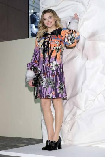 Chloe Grace Moretz in Louis Vuitton Spring 2020-5