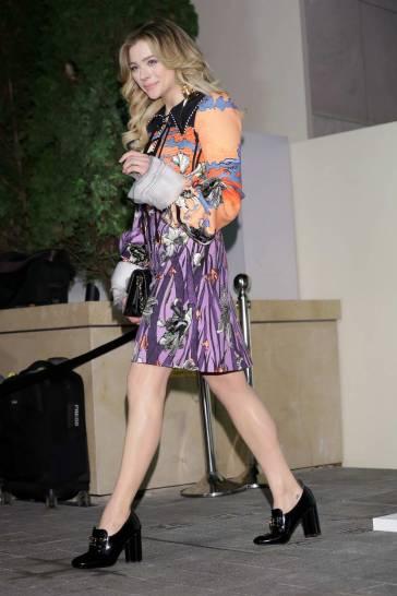 Chloe Grace Moretz in Louis Vuitton Spring 2020-8
