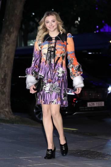 Chloe Grace Moretz in Louis Vuitton Spring 2020-9