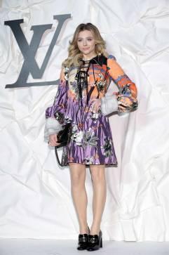 Chloe Grace Moretz in Louis Vuitton Spring 2020