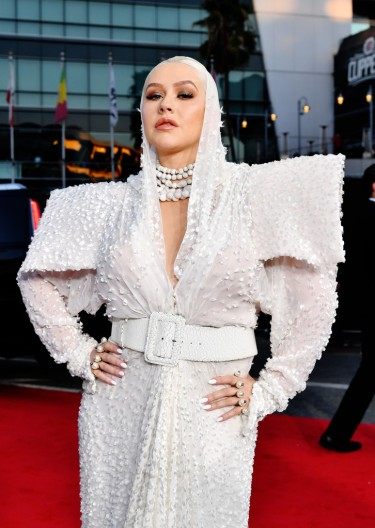 Christina Aguilera in Jean Paul Gaultier Fall 2017 Couture-1