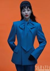 Elaine Zhong for Grazia China November 2019-16