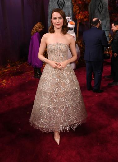 Evan Rachel Wood in Oscar de la Renta Spring 2020