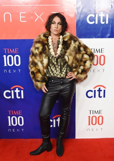 Ezra Miller in Saint Laurent Fall 2019-11