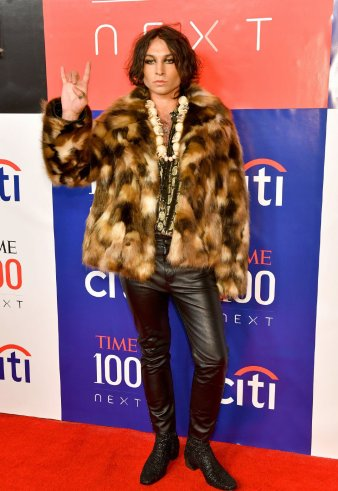 Ezra Miller in Saint Laurent Fall 2019-8