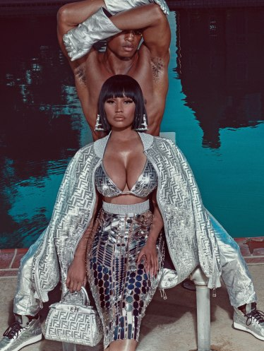 Fendi X Nicki Minaj Prints On