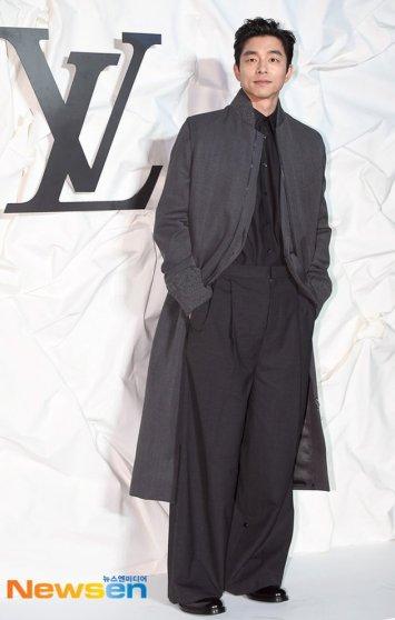 Gong Yoo in Louis Vuitton Spring 2020 Menswear