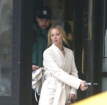 Jennifer Lawrence in The Row and Loewe-7