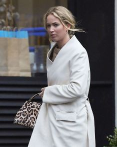 Jennifer Lawrence in The Row and Loewe-9
