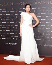 Jingle Wang in Maticevski X NET-A-PORTER