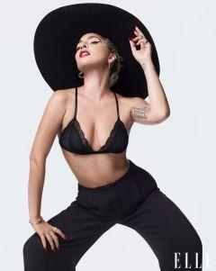 Lady Gaga for ELLE US December 2019-3