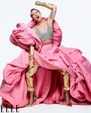 Lady Gaga for ELLE US December 2019-5