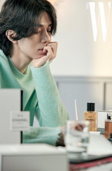 Lee Dong Wook for W Korea December 2019-2