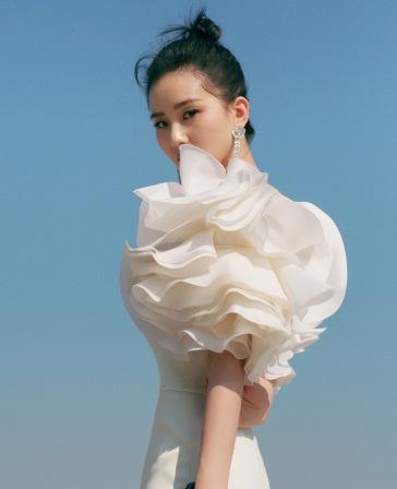 Liu Shishi in Georges Chakra Fall 2019 Couture-6