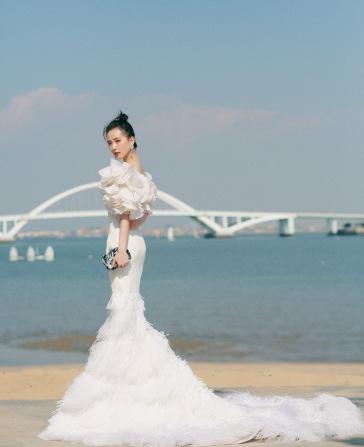 Liu Shishi in Georges Chakra Fall 2019 Couture-7