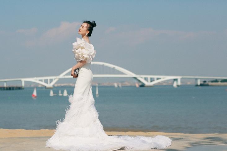 Liu Shishi in Georges Chakra Fall 2019 Couture-8