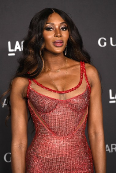 Naomi Campbell in Atelier Versace-1