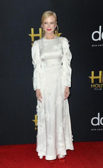 Nicole Kidman in Loewe Spring 2020