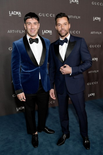 Ricky Martin and Jwan Yosef in Gucci-1