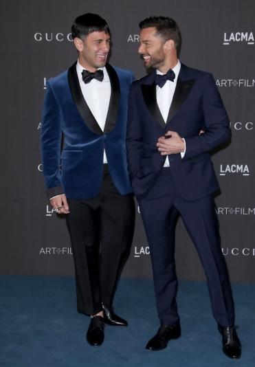 Ricky Martin and Jwan Yosef in Gucci-8