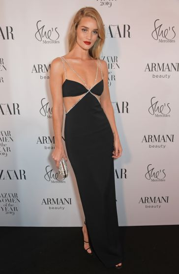 Rosie Huntington-Whiteley in David Koma Resort 2020-2