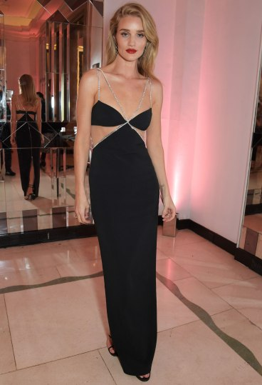 Rosie Huntington-Whiteley in David Koma Resort 2020