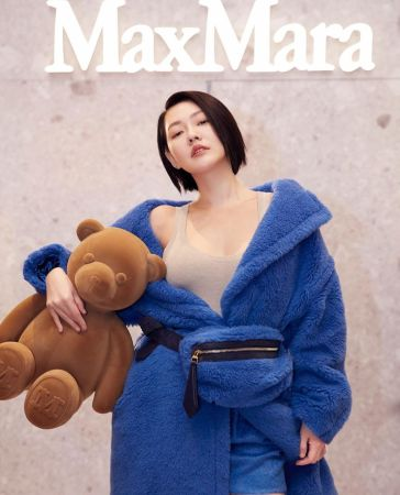 S Elephant Dee in Max Mara Fall 2019-2