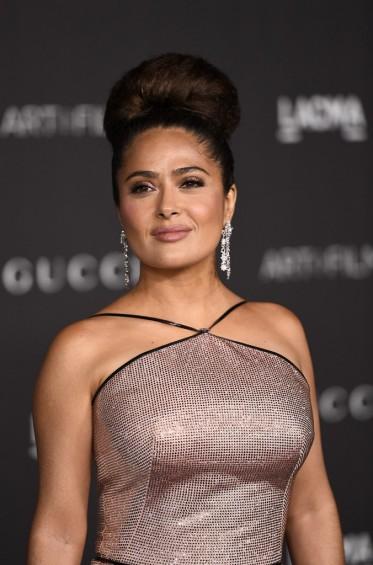 Salma Hayek in Gucci-7