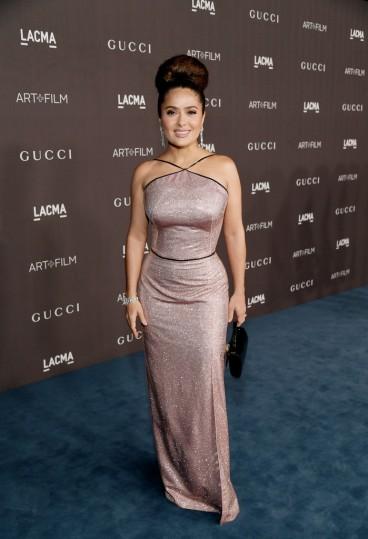 Salma Hayek in Gucci