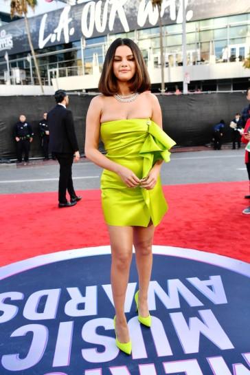 Selena Gomez in Versace Spring 2020-9