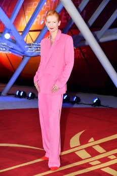 Tilda Swinton in Haider Ackermann-1
