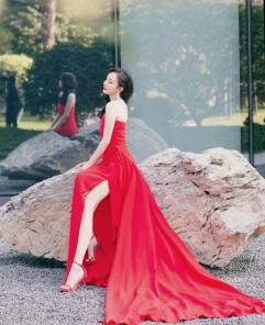 Yang Mi in Oscar de la Renta-3