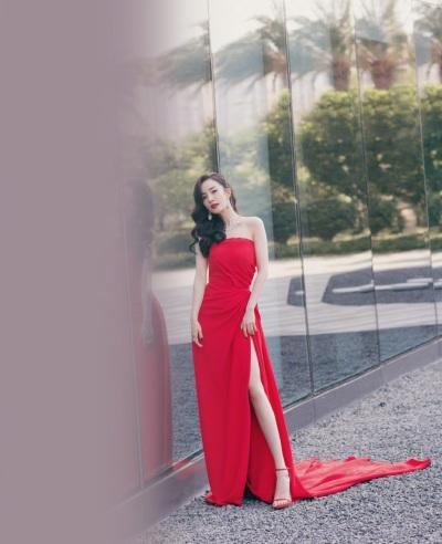 Yang Mi in Oscar de la Renta-6