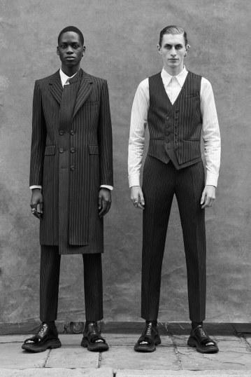 Alexander McQueen Spring 2020 Menswear