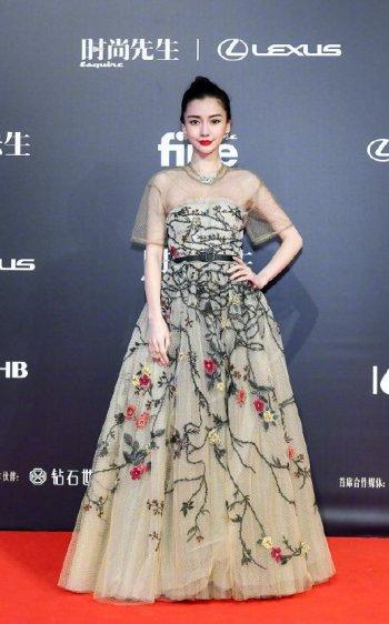 Angelababy in Dior Spring 2020