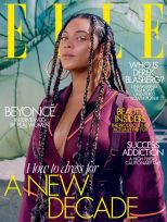 Beyoncé for ELLE US UK Canada January 2020 Cover C