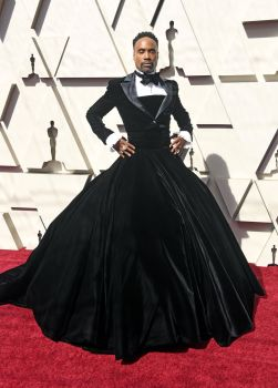 Billy Porter in Siriano