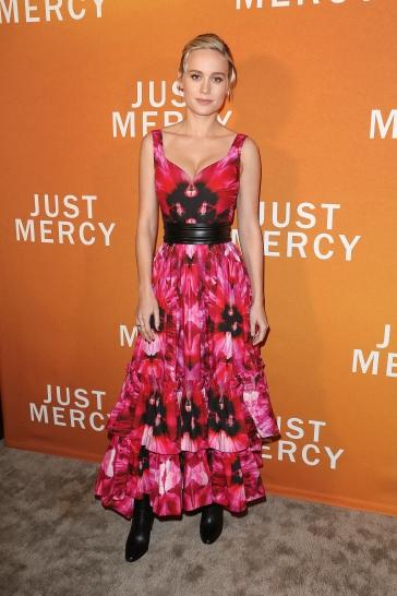 Brie Larson in Alexander McQueen Resort 2020-2