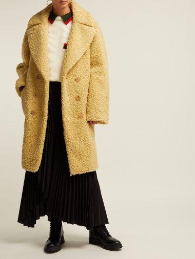 Burberry Willingstone wool-blend teddy coat