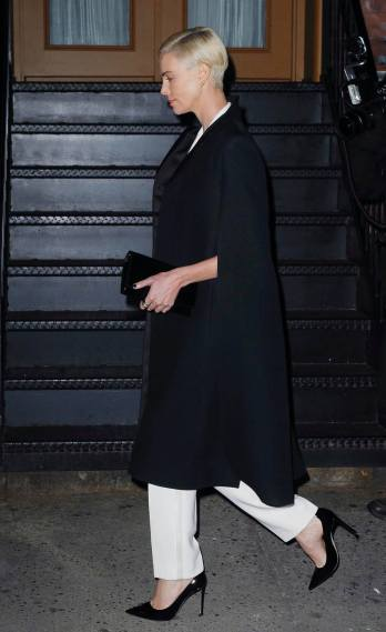 Charlize Theron in Dior Pre-Fall 2018-9