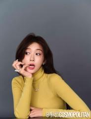 Chiling Lin and Akira for Cosmopolitan China January 2020-2