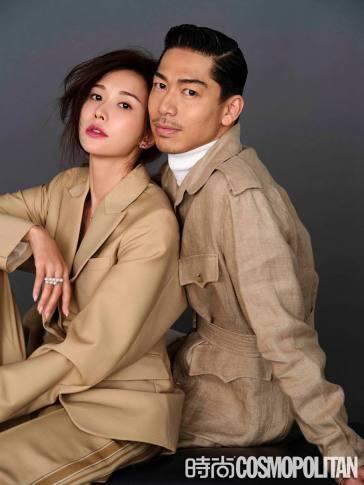 Chiling Lin and Akira for Cosmopolitan China January 2020-3