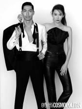 Chiling Lin and Akira for Cosmopolitan China January 2020-4