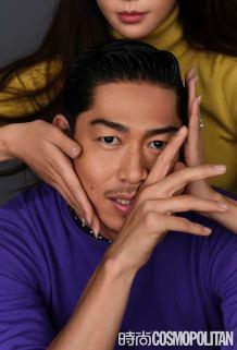 Chiling Lin and Akira for Cosmopolitan China January 2020-5