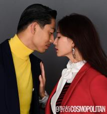 Chiling Lin and Akira for Cosmopolitan China January 2020-6