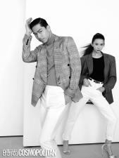 Chiling Lin and Akira for Cosmopolitan China January 2020-8